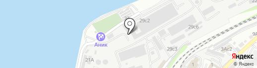 Восточная транспортная энергетическая компания на карте Владивостока