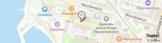 Лаборатория Времени на карте Владивостока