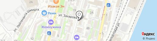 Хохлома на карте Владивостока