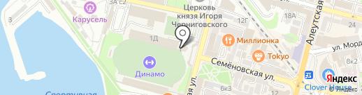 Зырянов.Фитнес на карте Владивостока
