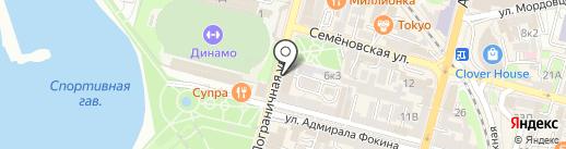 Содействие на карте Владивостока