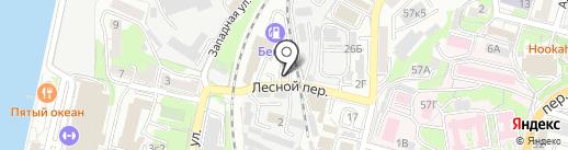 Mazoota на карте Владивостока