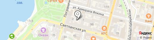 Филин и Сова на карте Владивостока