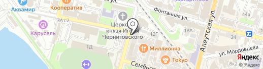 Молодежный ресурсный центр, МКУ на карте Владивостока