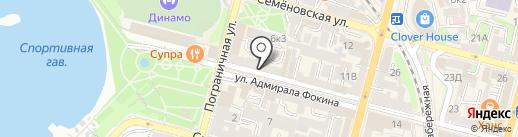Мико на карте Владивостока