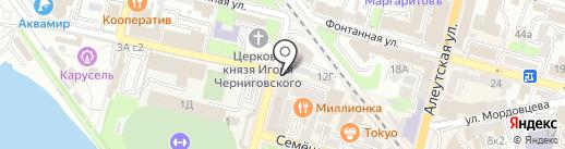 Пасифик Принсесс на карте Владивостока