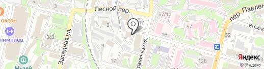 Ламбре на карте Владивостока