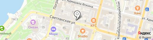 7/11 на карте Владивостока