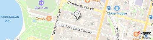 Кабинет психолога на карте Владивостока