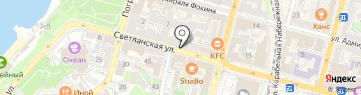 Pizzaiolo на карте Владивостока