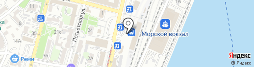РЖД ЭКСПРЕСС на карте Владивостока