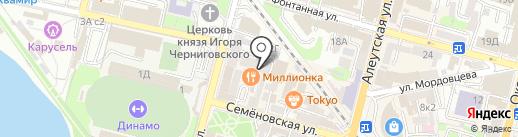 Breeze на карте Владивостока