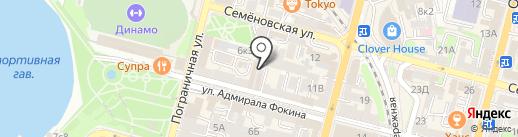 Сопка на карте Владивостока