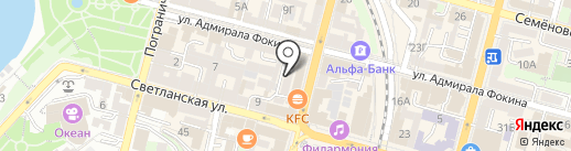 More на карте Владивостока