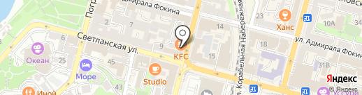 Jenavi на карте Владивостока