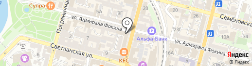 SILVERO на карте Владивостока