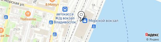 Вэлком на карте Владивостока