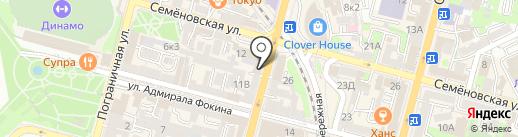 Золото на карте Владивостока