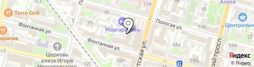 Roveno Casa на карте Владивостока