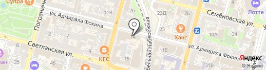 One Dumpling на карте Владивостока