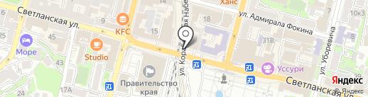 Music Bar Opium на карте Владивостока