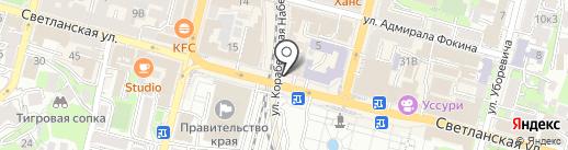 Candy на карте Владивостока