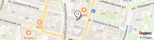 Unique на карте Владивостока