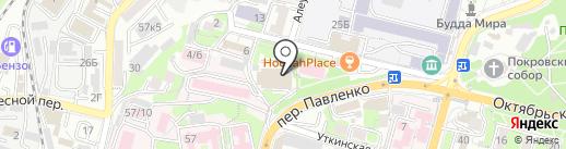 Транс Ойл на карте Владивостока