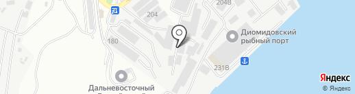 Оптовая компания на карте Владивостока