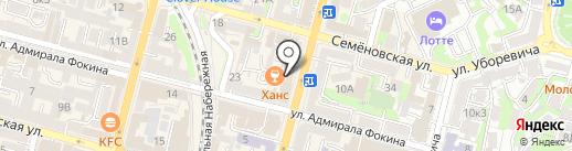 Русская горница на карте Владивостока