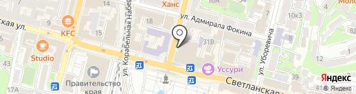 Бижумания на карте Владивостока