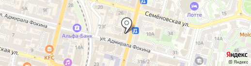 Квадролампа на карте Владивостока