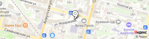 Room 69 на карте Владивостока