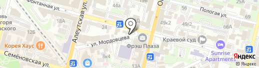 Кларксон и КО на карте Владивостока