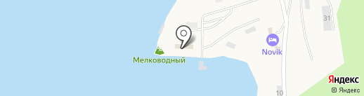 Спортивный клуб острова Русский, АНО на карте Русского