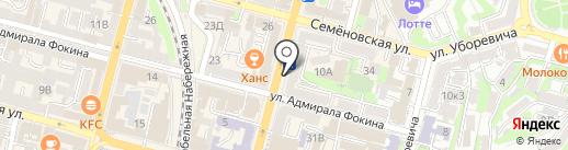 Мастерская на карте Владивостока