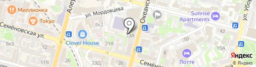 Кармен на карте Владивостока