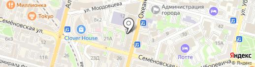 ПОЛЬЗА на карте Владивостока