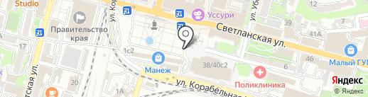 Храм Спасо-Преображенского кафедрального собора на карте Владивостока