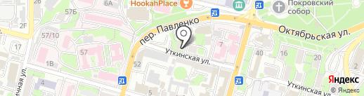 Мидори Лайн на карте Владивостока