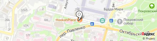 Чайхана №1 на карте Владивостока