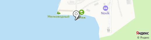 Кафе рыбной кухни на карте Русского