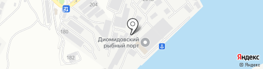 Маринтэк на карте Владивостока