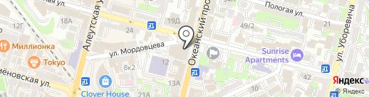 Промбезопасность на карте Владивостока