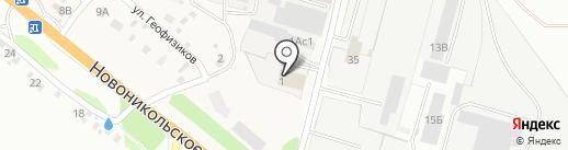 Уссурийская-1 на карте Уссурийска