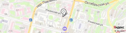 RS Интеграция на карте Владивостока