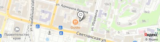 Трусельвания LUX на карте Владивостока