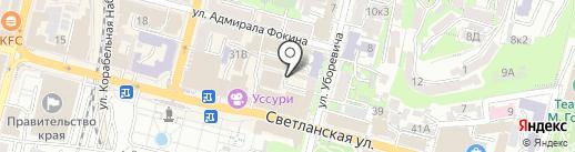 Контрабанда на карте Владивостока