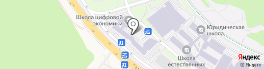 Дальневосточный федеральный университет на карте Русского