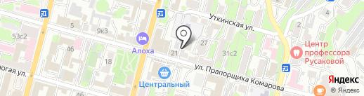Квартирное бюро на карте Владивостока